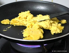 fry in a pan